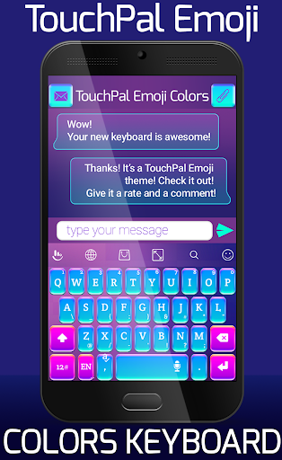 TouchPal Emoji Colors|玩個人化App免費|玩APPs