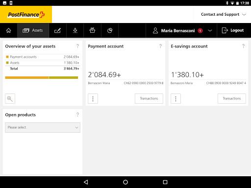 postfinance app android download