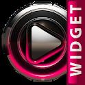 Poweramp widget Raspberry Glow icon