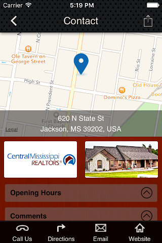 android Central Mississippi REALTORS Screenshot 2