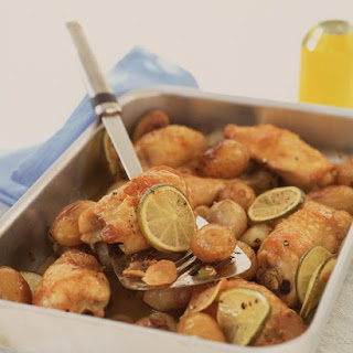 Thai Roasted Chicken and Potatoes.