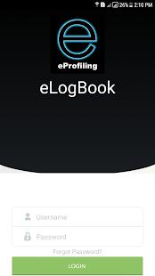 eLogBook - náhled