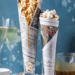Champagne Caramel Popcorn & Bacon Truffle Parmesan Popcorn