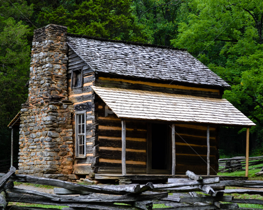 Cabin at Cades Cove by Beth Mears - Novices Only Objects & Still Life ( cabin, cades cove )