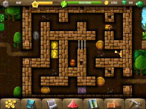 Diggy's Adventure: Fun Logic Puzzles & Maze Escape screenshots 16