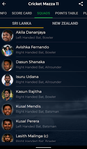 Cricket Mazza 11 Live Line & Fastest Score screenshot 6