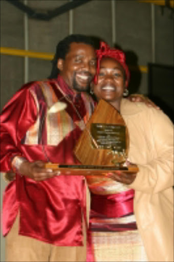 COMMITTED: Lena and Bheki Ngcobo. Pic. Mbuzeni Zulu. 15/10/07.