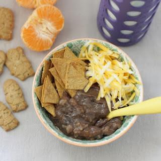 Toddler-Friendly Slow Cooker Black Bean Soup.