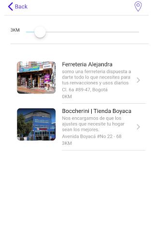 Cercanos App screenshot 6