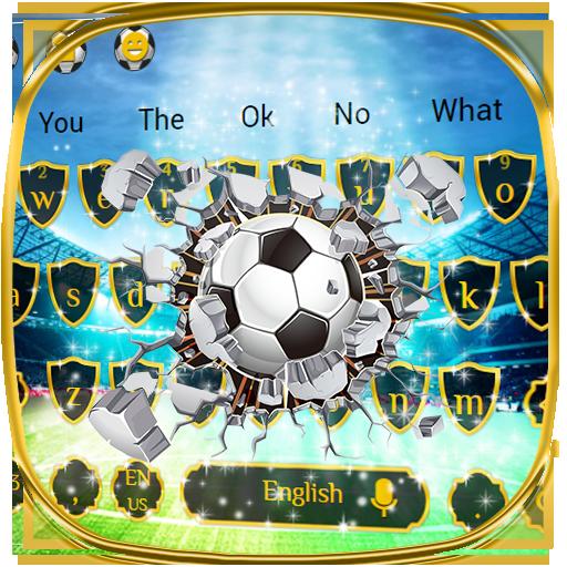 Football Royal keyboard Theme