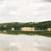 Adjud ed il suo lago di Siret di