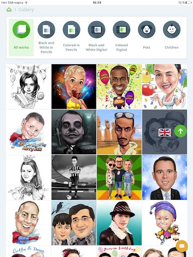 Caricatures,portraits,cartoons 2.3.5 screenshots 8