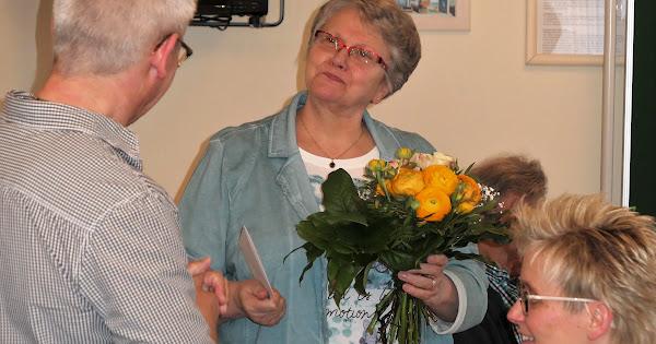 Dank für 40 Jahre Kirchenreinigung in Buer an Margret Grieger - 21.04.2018