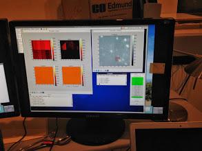 Photo: Star cluster on the tip/tilt sensor