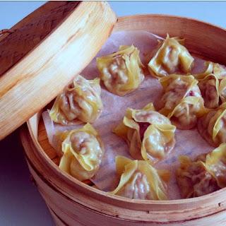 Steamed Tofu and Shitake Mushroom Dumplings Recipe
