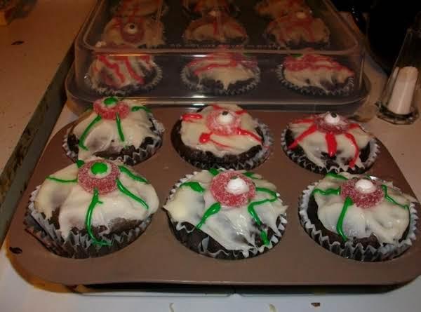 Eyeball Cupcakes Recipe
