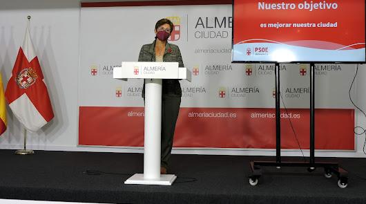 Adriana Valverde, portavoz del Grupo Municipal Socialista