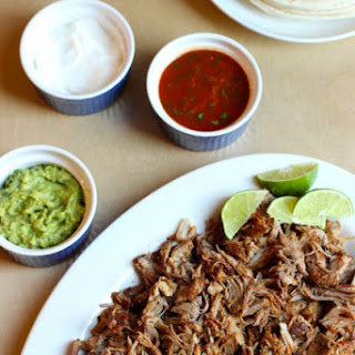 Slow Cooker Pork Tacos.