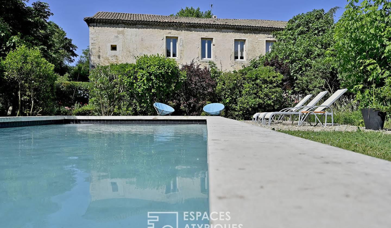 Maison avec piscine Lirac