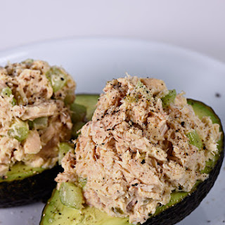 Tuna Salad Stuffed Avocado