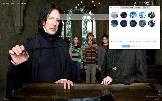 Severus Snape Hd Wallpapers New Tab