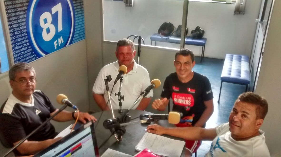 Donacio Silva, Benedito Leite Ribeiro Neto, Daniel Silva e Sergio Borges