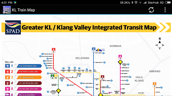 Kuala Lumpur KL MRT Train Map 2018 Apps on Google Play