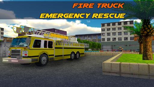 FIRE TRUCK EMERGENCY RESCUE