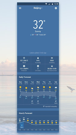 Best Galaxy Live Weather Widge 7.2.9.d_release screenshot 620470