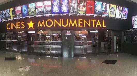 Ofertas de película en Cines Monumental todo el mes
