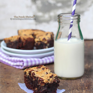Chocolate Chip Cookie BROWNIES!