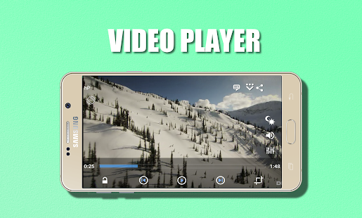 HEVC Video Player H.265 - náhled