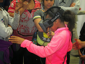 Photo: Kids Enjoying Virtual Reality Simulation