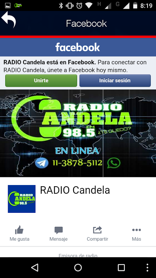 Radio Candela 98.5- screenshot