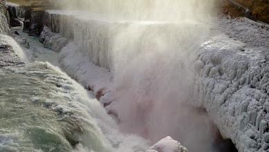 Photo: La cascata di Gullfoss, Islanda. Marzo 2013 www.90est.it/islanda-aurora-boreale.html