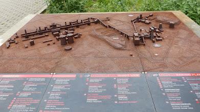 Photo: Zollverein; Übersichtsplan Kokerei & Schacht 1/2/8