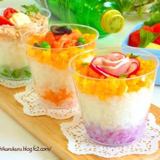 Chirashi Sushi in a Cup