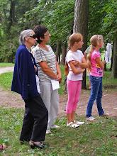 Photo: Rambyno parko kultūrologė Giedrė Skipitienė įsijungė į šventę kartu su bitėniškiais vaikais, kurie skaitė eiles apie Rambyną...
