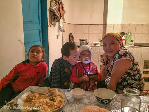 Kyrgyzstan Trekking: Guide to Sary-Chelek in the Tian Shan Mountains // Our host Kamilla and her kids