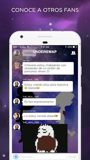 Undertale Amino en Espau00f1ol 2.2.27032 screenshots 2