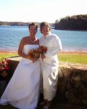Photo: South Carolina Same Sex, Same Gender Wedding Ceremony Officiant Minister Brenda M. Owen http://WeddingWoman.net