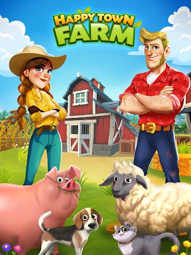 Happy Town Farm: Farming Game apkmr screenshots 8
