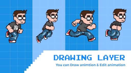 3D Pixel Animation Maker u2013 MP4 Video And GIF screenshots 3