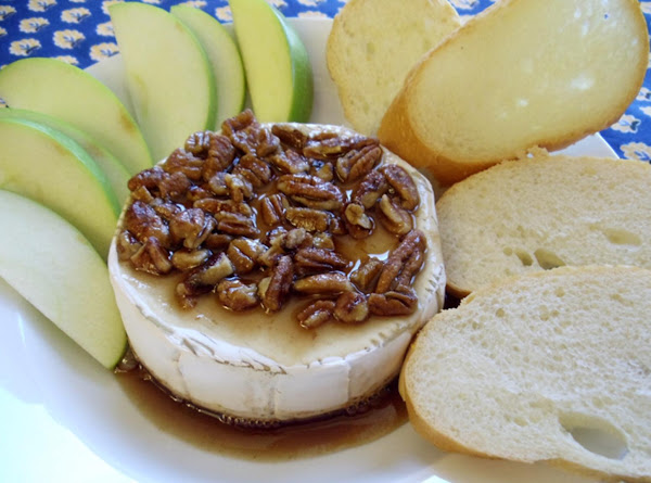 Candied Nuts And Brie Dip Recipe