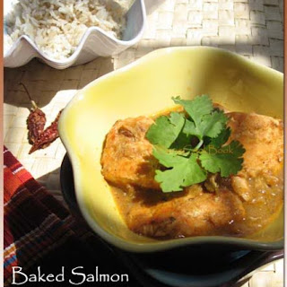 Baked Salmon er Kalia