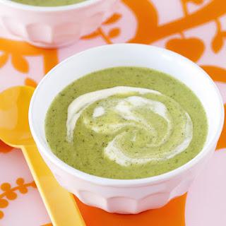 Creamy Broccoli and Potato Soup.