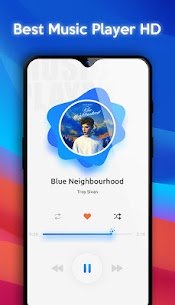 Music Player Style Oppo Reno & F11 Free Music Mp3 App Download For Android 1