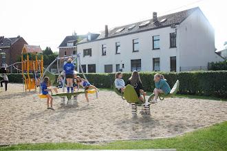 Photo: ...om te gaan volleyballen...