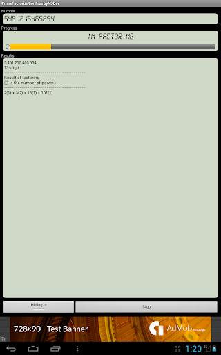 PrimeFactorizationFree byNSDev 1.0.1 Windows u7528 5