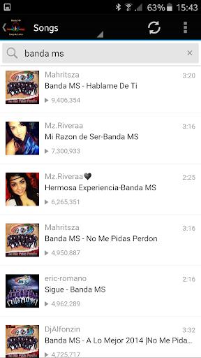 Banda MS Songs Lyrics